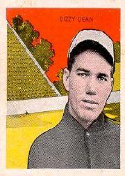 1933 Tattoo Orbit #15 Dizzy Dean