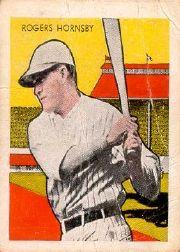 1933 Tattoo Orbit #34 Rogers Hornsby