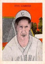 1933 Tattoo Orbit #41 Ernie Lombardi