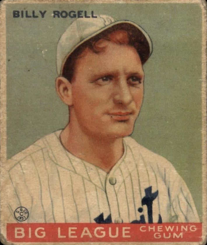 1933 Goudey #11 Billy Rogell RC