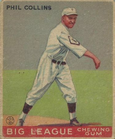 1933 Goudey #21 Phil Collins RC