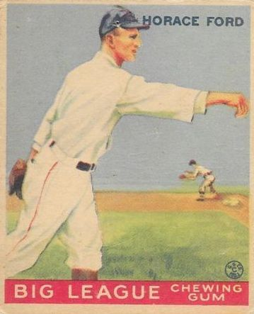 1933 Goudey #24 Horace Ford RC