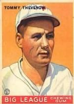 1933 Goudey #36 Tommy Thevenow RC