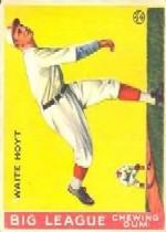 1933 Goudey #60 Waite Hoyt RC