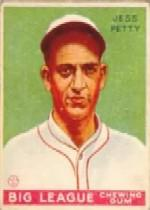 1933 Goudey #90 Jess Petty RC