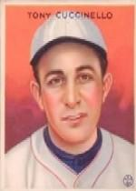 1933 Goudey #99 Tony Cuccinello RC