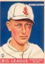 1933 Goudey #101 Richard Coffman RC