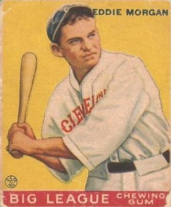 1933 Goudey #116 Eddie Morgan RC