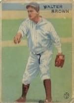 1933 Goudey #192 Walter Brown RC