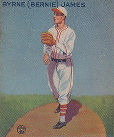 1933 Goudey #208 Bernie James RC
