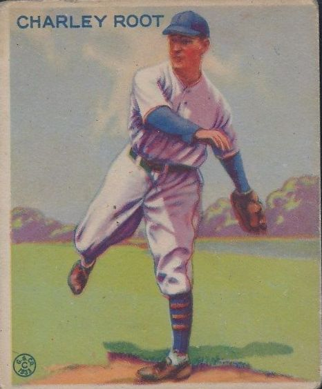 1933 Goudey #226 Charley Root RC