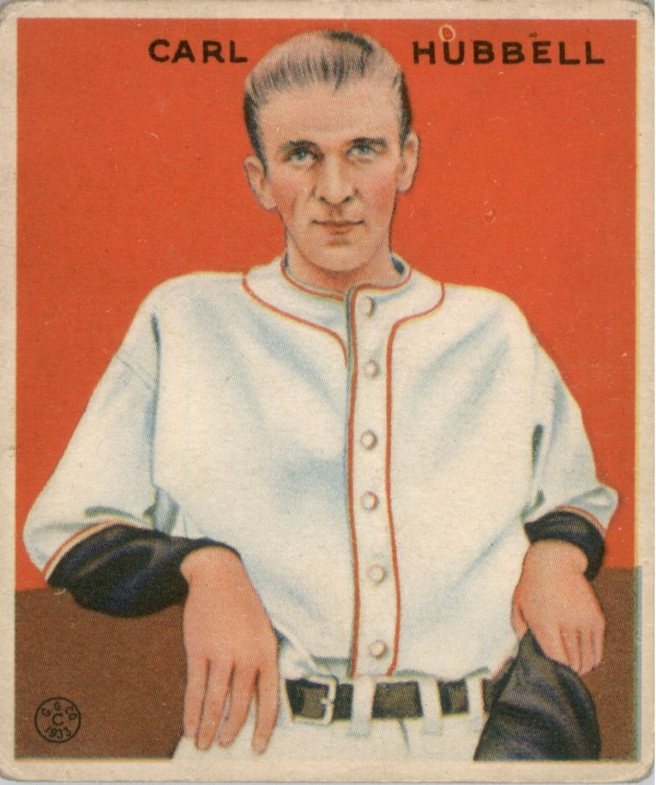 1933 Goudey #234 Carl Hubbell RC