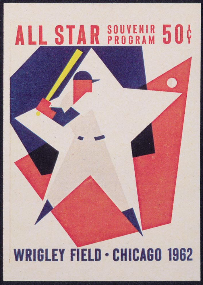 1933-99 All-Star Game Programs #1962 Chicago