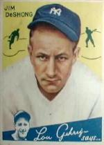 1934 Goudey #96 James DeShong RC