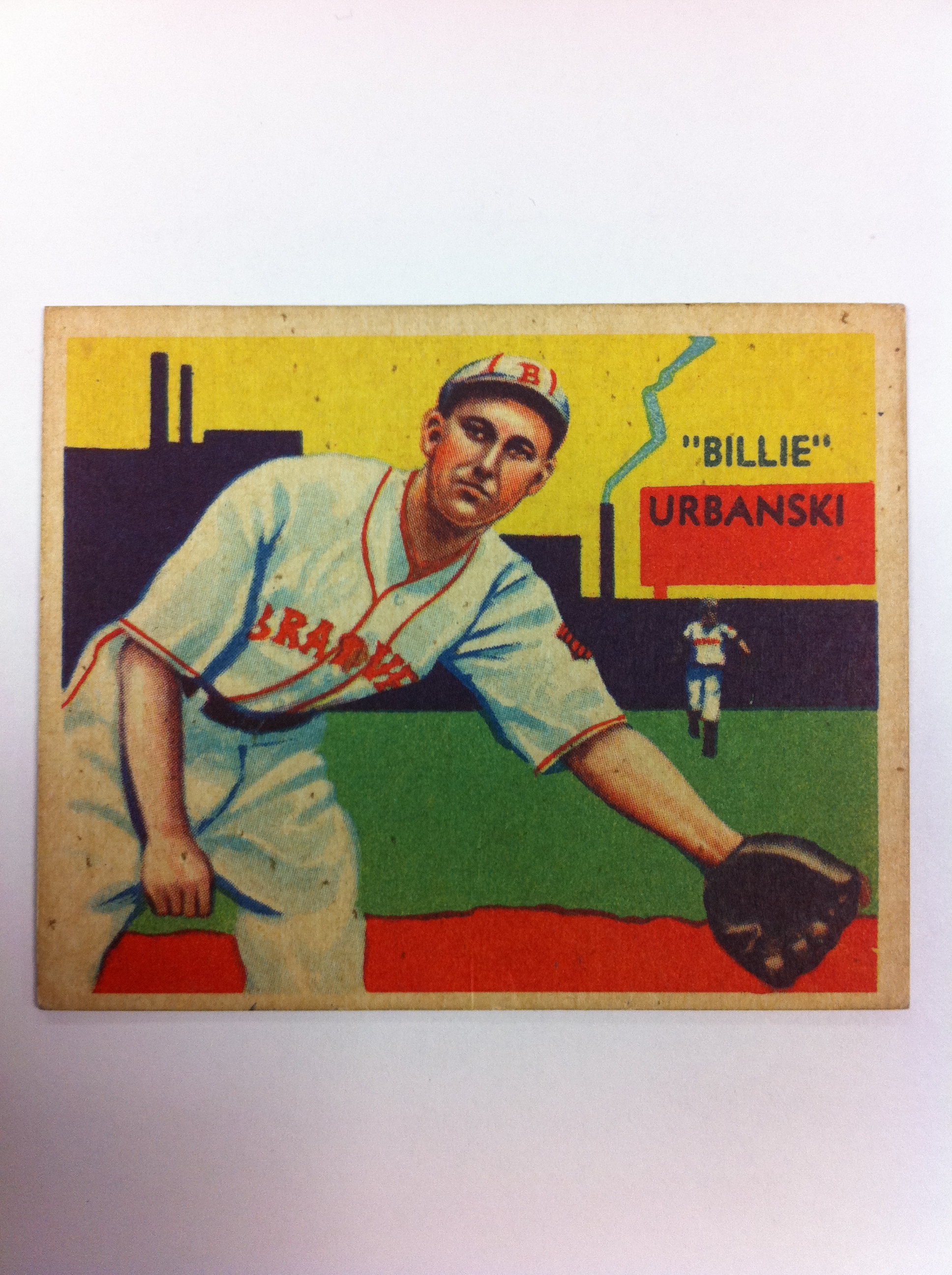 1934-36 Diamond Stars #37 Billy Urbanski (35G)