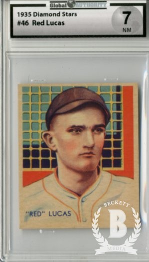 1934-36 Diamond Stars #46 Red Lucas (35G)
