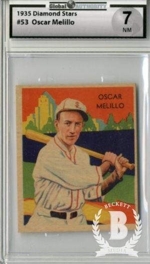 1934-36 Diamond Stars #53 Oscar Melillo (35G)