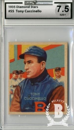 1934-36 Diamond Stars #55 Tony Cuccinello (35G)