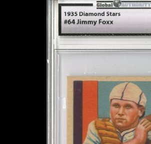 1934-36 Diamond Stars #64 Jimmie Foxx (35G)