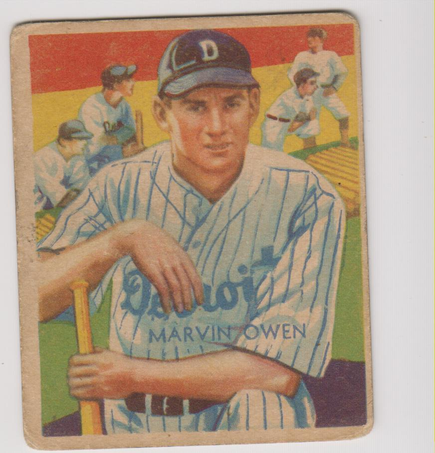 1934-36 Diamond Stars #67 Marvin Owen (35G)