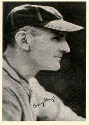 1936 National Chicle Fine Pen Premiums R313 #68 Casey Stengel MG
