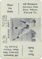 1936 S and S (Green Backs) WG8 #20 Larry French