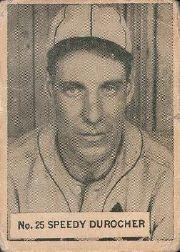 1936 World Wide Gum #25 Leo Durocher