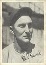 1936 Goudey Black and White #24 Paul Waner