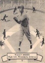 1937 O-Pee-Chee Batter Ups V300 #109 Wally Moses