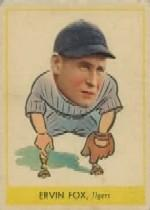 1938 Goudey Heads-Up #242 Pete Fox