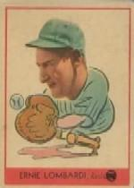 1938 Goudey Heads-Up #246 Ernie Lombardi