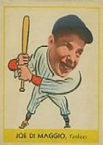 1938 Goudey Heads-Up #250 Joe DiMaggio XRC