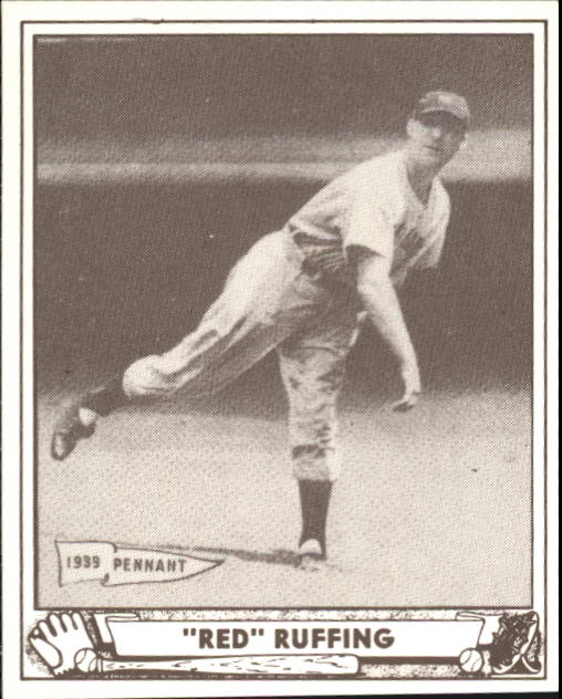 1940 Play Ball #10 Red Ruffing