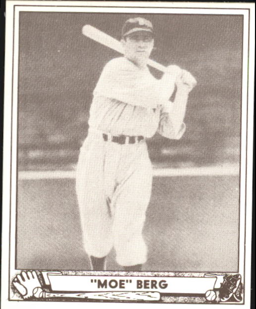 1940 Play Ball #30 Moe Berg front image