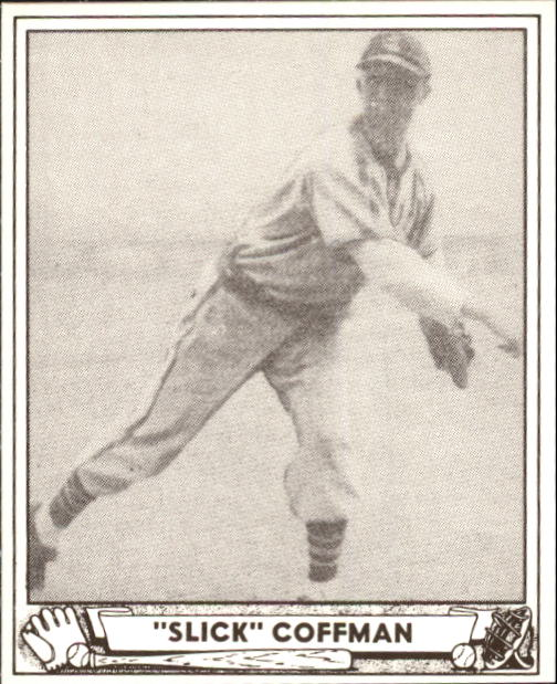 1940 Play Ball #55 Slick Coffman front image