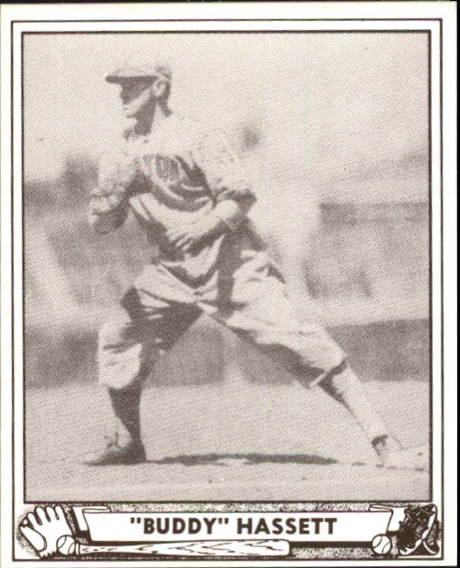 1940 Play Ball #62 Buddy Hassett