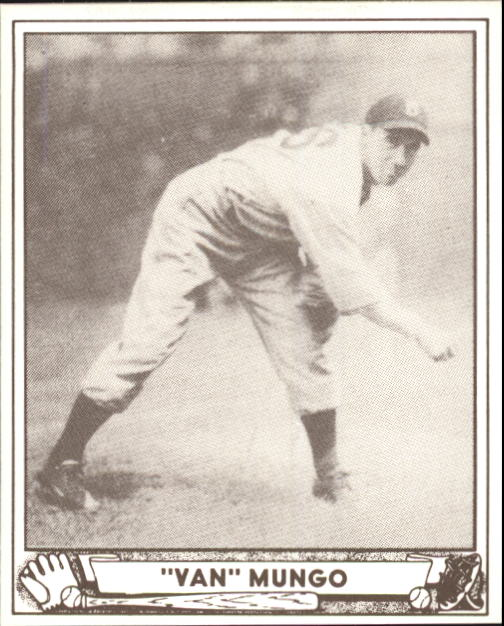 1940 Play Ball #64 Van Lingle Mungo