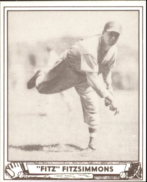 1940 Play Ball #65 Fred Fitzsimmons