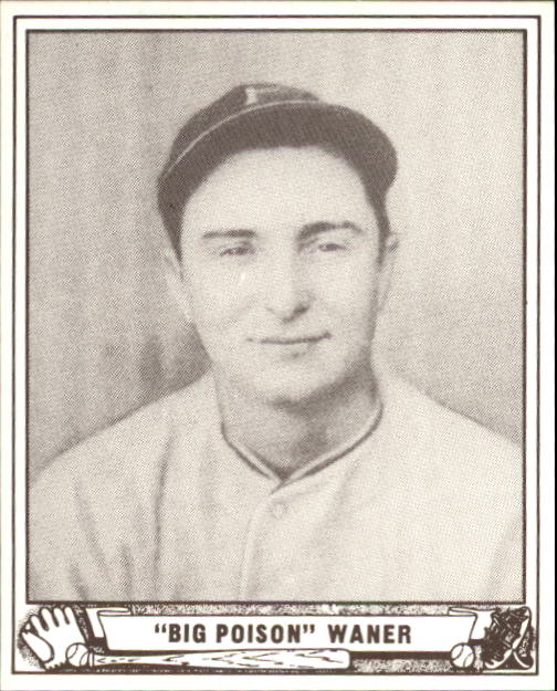 1940 Play Ball #104 Paul Waner
