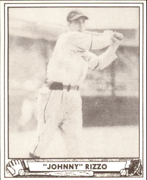 1940 Play Ball #108 Johnny Rizzo
