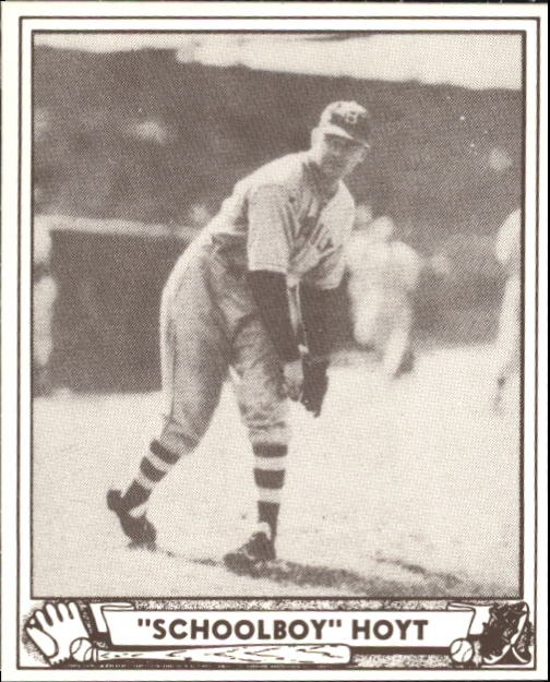 1940 Play Ball #118 Waite Hoyt