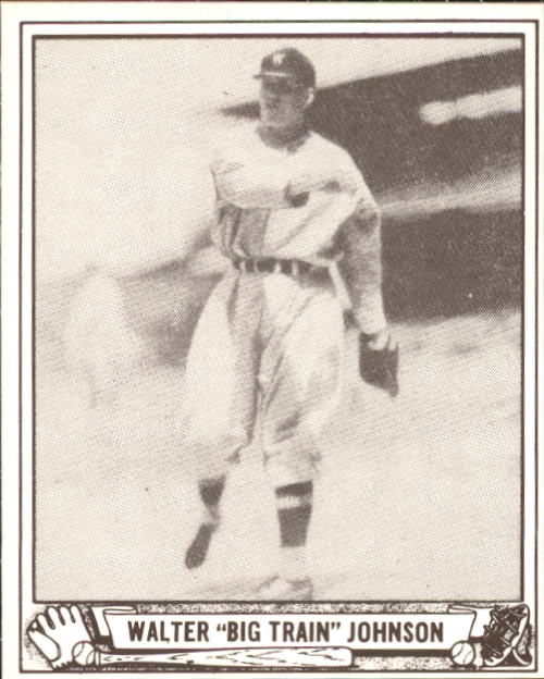 1940 Play Ball #120 Walter Johnson