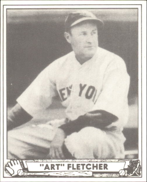 1940 Play Ball #125 Art Fletcher RC