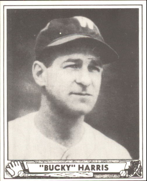 1940 Play Ball #129 Bucky Harris MG RC