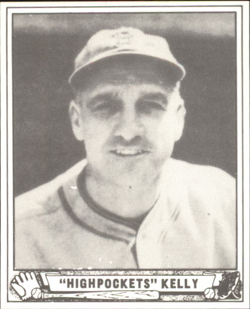 1940 Play Ball #142 George Kelly RC
