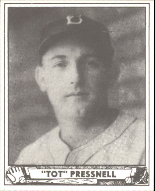 1940 Play Ball #146 Tot Pressnell