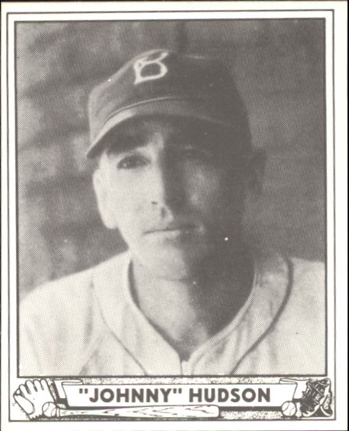 1940 Play Ball #147 Johnny Hudson