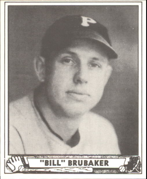 1940 Play Ball #166 Bill Brubaker