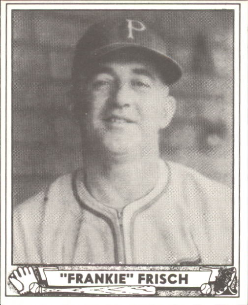 1940 Play Ball #167 Frankie Frisch MG