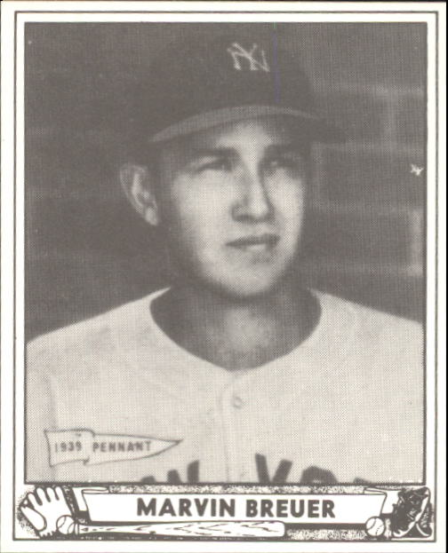 1940 Play Ball #183 Marvin Breuer RC